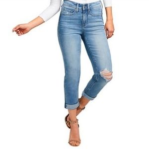 NYDJ Curves 360 Slim Straight Crop Jean - US 28